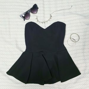 Posh for the Photo Peplum Top